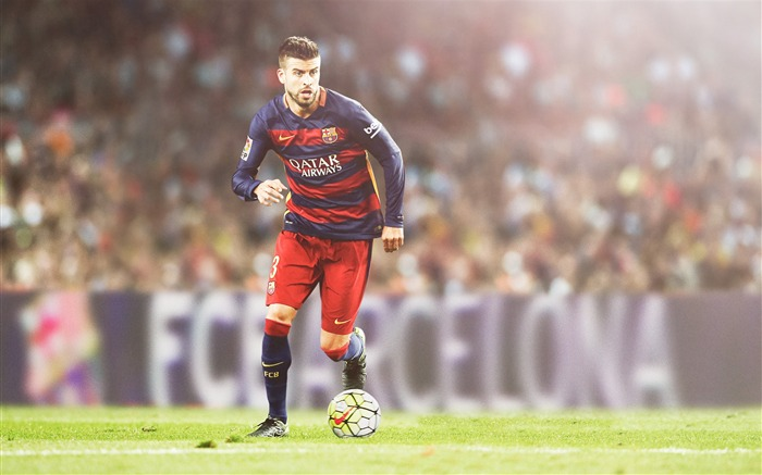 2017 Gerard Pique FC Barcelona Poster Wallpaper Views:1306