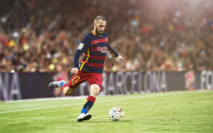Aleix Vidal FC Barcelona 2017 Poster Wallpaper Views:1343
