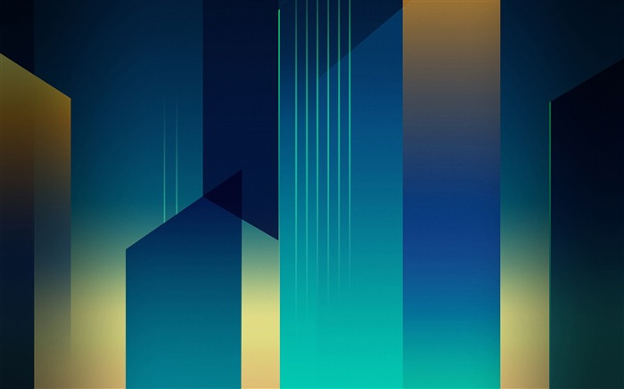 Blue and yellow abstract design 2017 High Quality Wallpaper Views:581