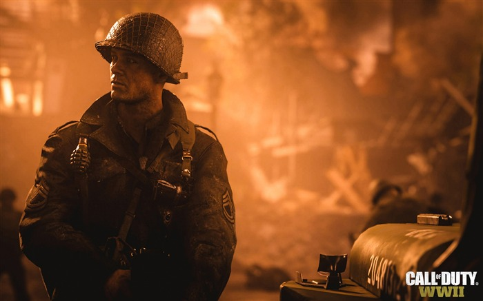 Call of duty ww2 2017 Game HD Wallpaper Views:1082
