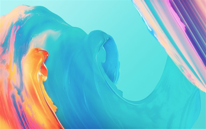 Colorful paint waves 2018 FCB 2017 High Quality Wallpaper Views:660