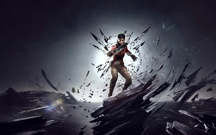 Dishonored death of the outsider 2017 Game HD Wallpaper Views:1129