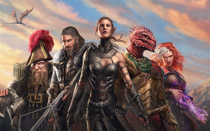 Divinity Original Sin 2 2017 Game HD Wallpaper Views:706