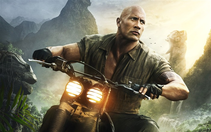 Dwayne Johnson Welcome to the jungle 2017 Movies HD Wallpaper Views:1004
