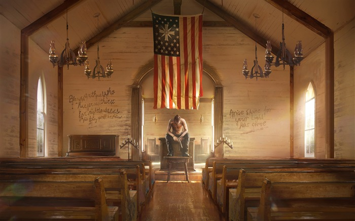 Far Cry 5 Absolution 2017 Game HD Wallpaper Views:1512