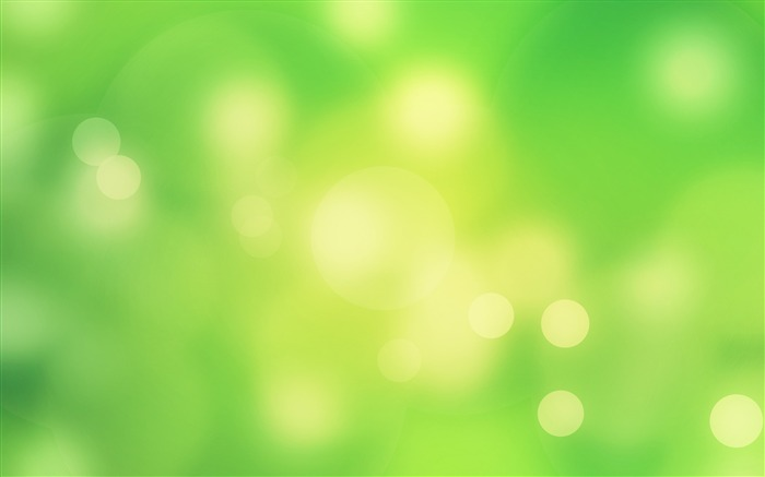 Green Circle Halo Bokeh 2017 Design HD Wallpaper Views:426