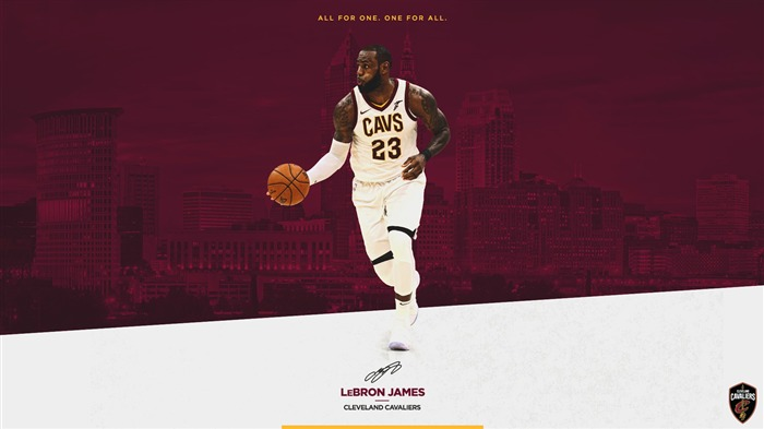 Cleveland Cavaliers 2017-2018 Season Players Wallpaper Views:2015