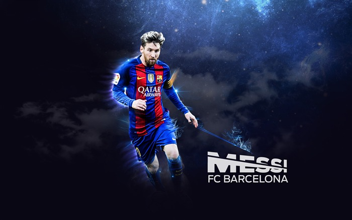 Lionel Messi FC Barcelona 2017 Poster Wallpaper Views:2074