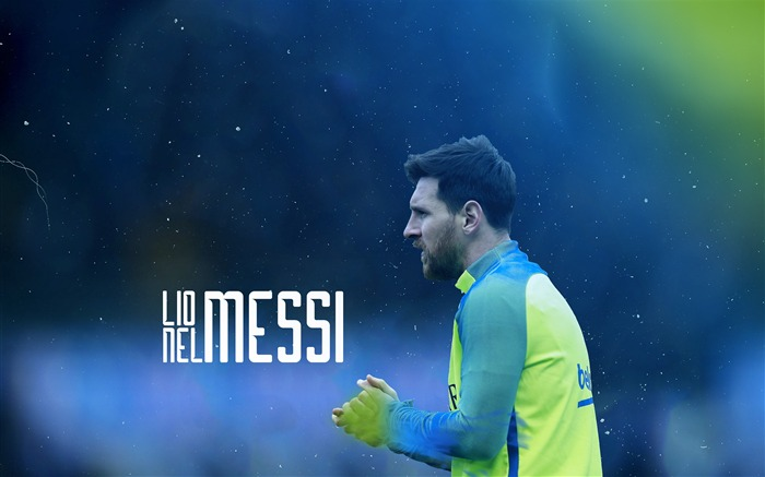 Lionel Messi FC Barcelona Poster Wallpaper Views:1691