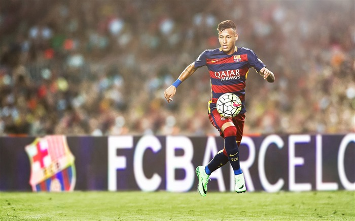 Neymar 2017 FC Barcelona Poster Wallpaper Views:1425