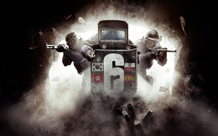 Rainbow six siege tom clancys 2017 Game HD Wallpapers Views:1096