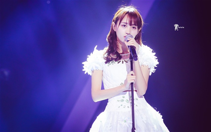 SNH48 Chinese Charming Beauty HD Wallpaper 05 Views:723