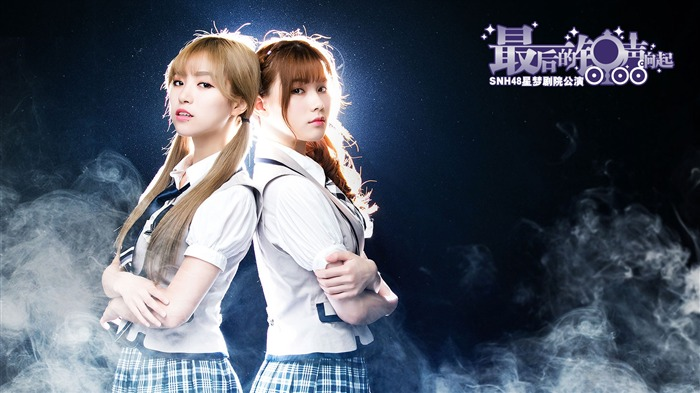 SNH48 Chinese Charming Beauty HD Wallpaper 07 Views:632
