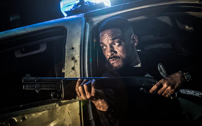 Will smith in bright 2017 Movies HD Wallpaper Views:958