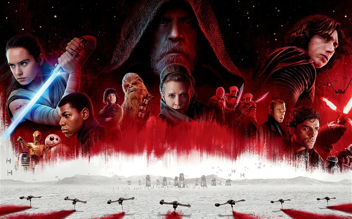 2017 Star Wars The Last Jedi Movies 4K Views:813