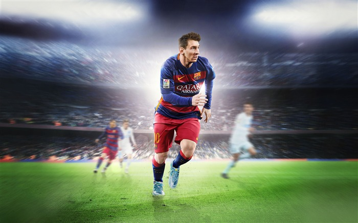 FIFA 16 Lionel Messi 4k Game Wallpaper Views:1275
