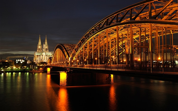 Germany cologne cathedral landmark photography 4K HD Views:1497