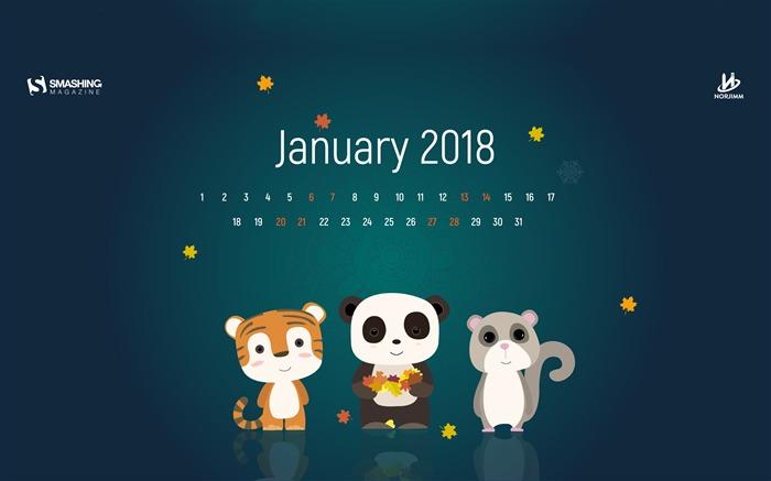 January 2018 Calendars Desktop Hd Wallpaper Album List Page1