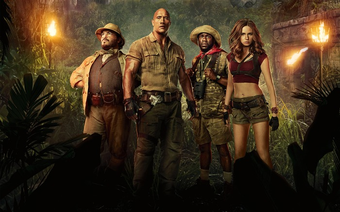 Jumanji Welcome to the Jungle 4K HD Poster Views:1114