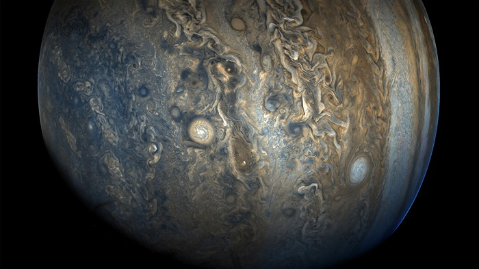 Jupiter Southern Hemisphere NASA 2017 4K HD Views:740