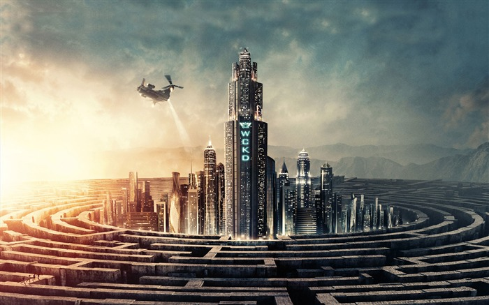 Maze Runner The Death Cure 4K HD Poster Views:889