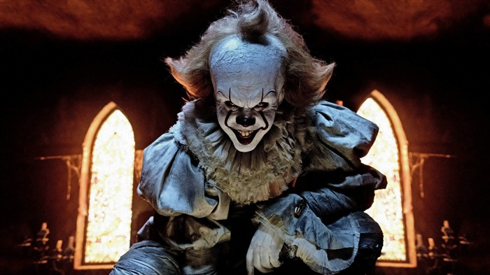 Pennywise the clown in it 2017 4k HD Views:127