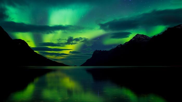 4k Hd Wallapaper: Beautiful Nature Aurora Landscape 4K HD Album List-Page1