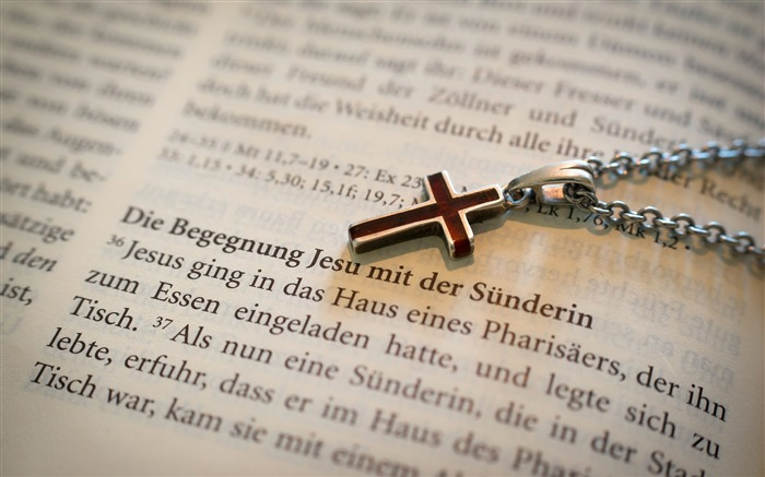 Books necklace love cross bible Views:722