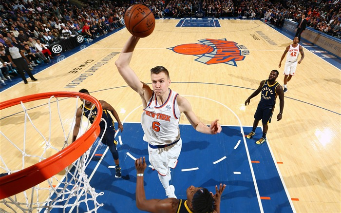 Kristaps Porzingis NBA 2017-2018 4K Wallpaper Views:1189