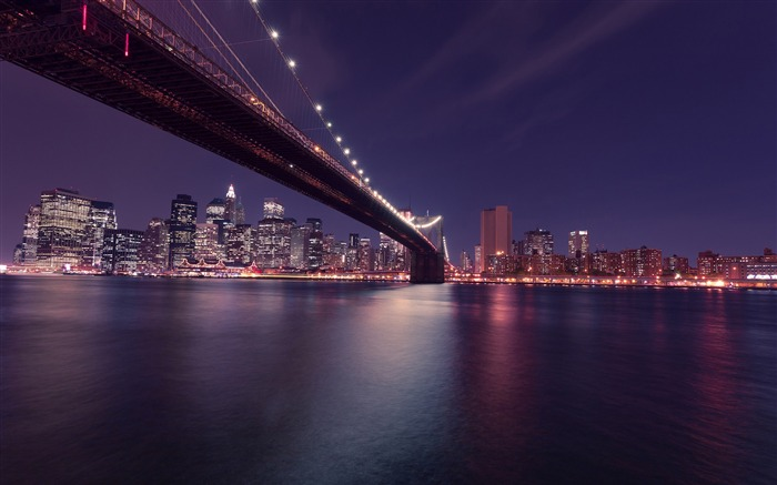 Modern city bridge building lighting HD Views:162