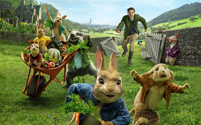 Peter Rabbit 3D 2018 Film 4K Poster Views:5473 Date:1/14/2018 6:07:54 AM