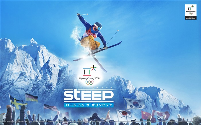 Ubisoft Steep Game 4K HD Poster Views:2157