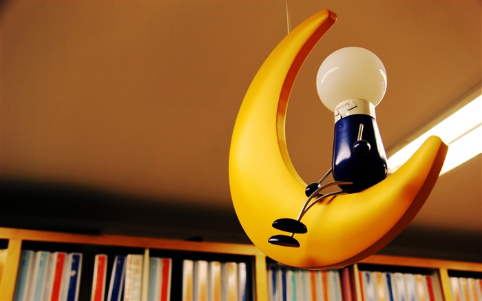 Warm and lovely library of creative lamps Views:657