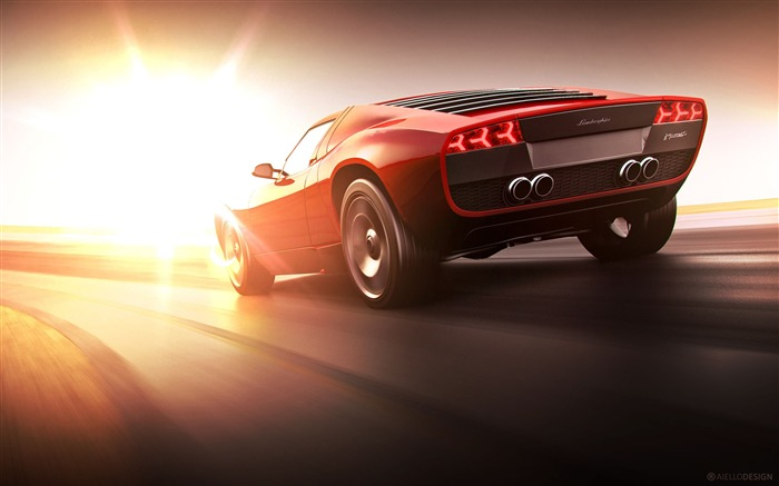 Lamborghini cgi 2018 sunshine cars Views:890