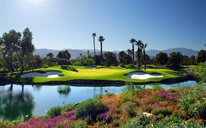 Stunning golf course nature landscape Views:685