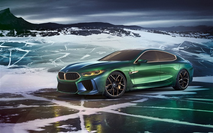 2018 BMW M8 Gran Concept Coupe Views:9033
