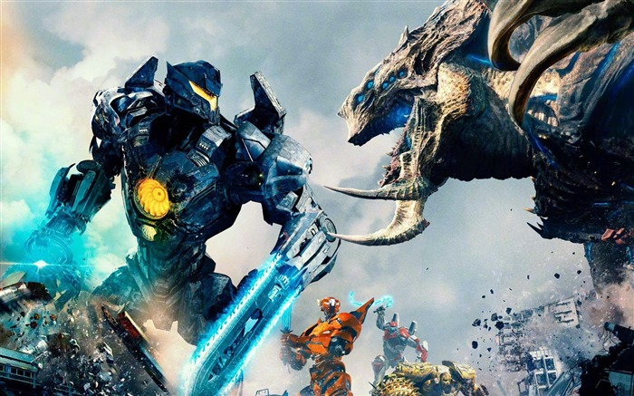2018 Movie Pacific Rim Uprising Poster Views:1591