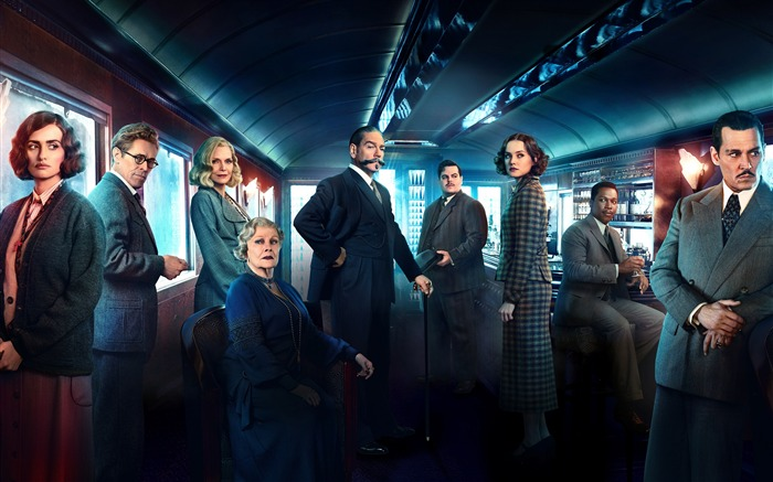 Murder on the Orient Express 4K Poster Views:1014