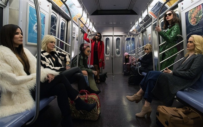 Oceans 8 movie 2018 characters poster Views:839