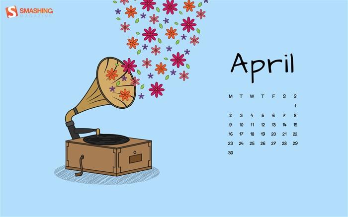 Calendar April 2016 : 年,四月,日历,桌面,高清,壁纸专辑列表 第 页 wallpaper