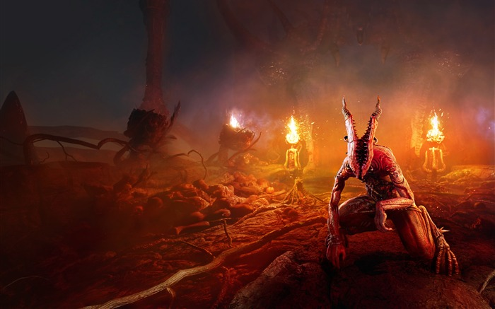 Agony 2018 HD 4K Game Poster Views:3018