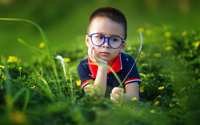 China Meadow Wildflowers Glasses Children Views:726