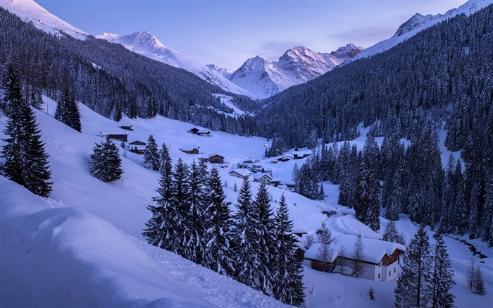Jungle Village Winter Snow mountains Views:4505 Date:5/20/2018 8:52:48 AM
