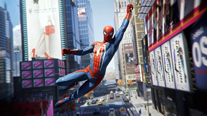 Spiderman 2018 ps4 Game HD Poster Views:2266