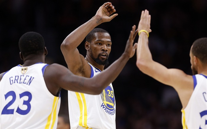 2018 Golden State Warriors Durant Kevin Stephen Curry Views:645
