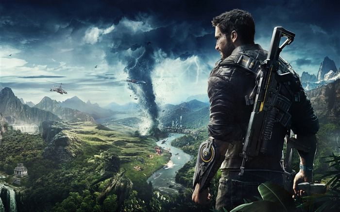 2018, Just Cause 4, E3, juego, HD, cartel Vistas:399