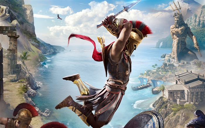 Assassins Creed, Odyssey E3, HD, 2018, Juego Vistas:373