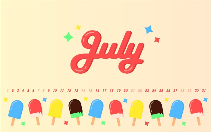 You Need Is Ice Cream July 2018 Calendars Views:265