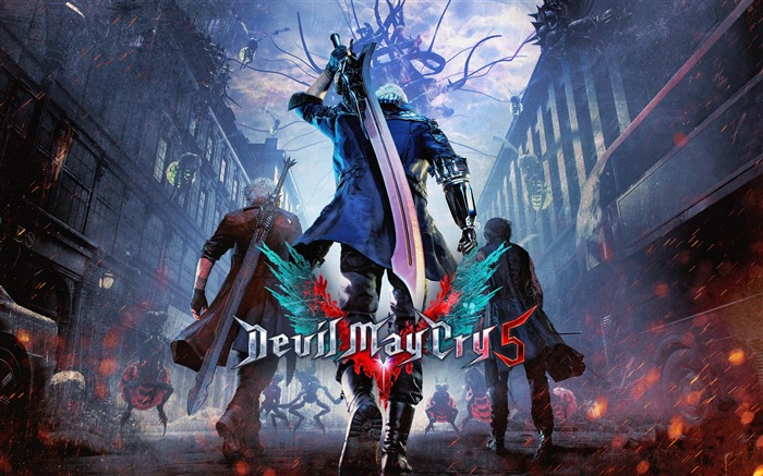 2019 Devil May Cry 5 Game HD Poster Views71