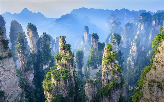 China Hunan Zhangjiajie National Forest Park 2018 Bing Views:8211 Date:7/11/2018 8:49:10 AM
